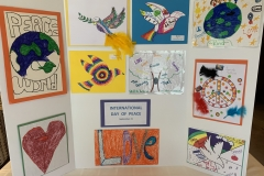 Child-produced art from multiple churches